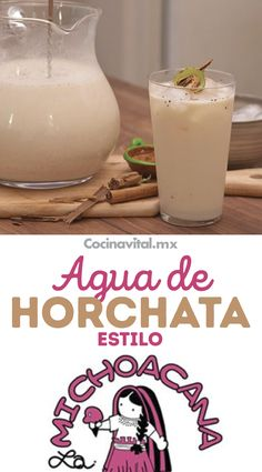 Agua Horchata, Smoothie Drinks, Healthy Smoothies, Healthy Drinks, Healthy Snacks, Mexican Drinks, Mexican Food Recipes, Agua Fresca Recipe, Gastronomia