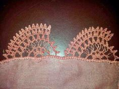 güzel Drawn Thread, Crochet Borders, Needle Lace, Thread Crochet, Sculpting, Crochet Earrings, Womens Fashion, Pattern, Handmade