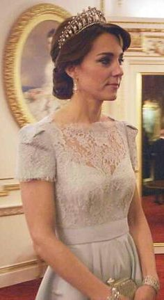 The Duke and Duchess Of Cambridge are seen attending the Diplomatic Reception hosted by Her Majesty The Queen at Buckingham Palace in November 2015 during the documentary.