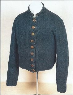 Richmond Depot Type 3, cadet gray jacket of Private John Kennedy Coleman, Company F, 6th South Carolina Infantry. Coleman wore this uniform at Appomattox, April 9, 1865.