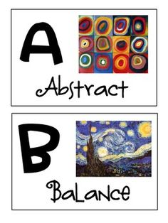 * **Brownie Badges** * All about Art Key to the Arts  Art Alphabet