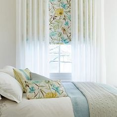 House Beautiful Window Treatments house beautiful roman blinds and curtains | hillarys | curtains