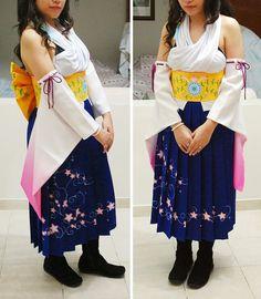 Photo by Jo Bermejo Cosplay Costumes, Cosplay Ideas, Final Fantasy X, Cosplay Characters, Larp, Haikyuu, Pop Culture, Kimono Top, Games