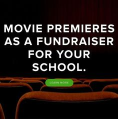 7 Movie Fundraiser Ideas - Having a fundraising movie night is a fun way to raise funds for your group or cause.