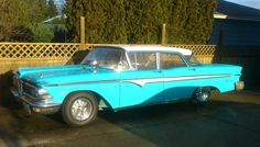 1000+ images about edsel on Pinterest | Station wagon ...