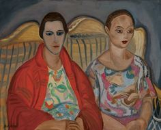 Frances Hodgkins, Double Portrait, 1922, Dunedin Public Art Gallery