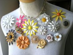 Jewerly Collection Display Vintage Brooches 69 Ideas