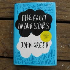 The Fault in Our Stars by John Green A terminally ill girl unexpectedly falls in love despite her inevitable fate. Grab the tissues, you will have tears of joy, laughter, and sadness.