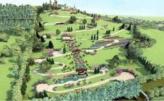 Dealul Ciuperca, la poalele căruia se întinde orașul #Oradea, se va transforma într-o adevărată grădină cu amfiteatru în aer liber, cascadă, cramă și plantații de viță-de-vie. #travel