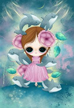 Delfines by Zepollita.deviantart.com