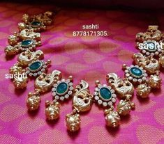 Pure silver jeweller Pure silver jewellery with gold polish . Silver necklace with gold ball and swan design.whats app 91 05 January 2019 Silver Jewellery Indian, Gold Jewellery Design, Silver Jewellery Online, Vintage Jewellery, Emerald Jewelry, Silver Jewelry, Silver Ring, Silver Earrings, Silver Bracelets