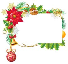 Christmas Deco Blank PNG Clipart