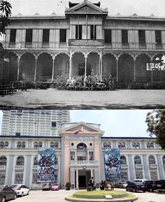 """ADAMSON UNIVERSITY   Location: San Marcelino St., Ermita Manila Philippines Wayback 1932 *ASIC was founded by George Lucas Adamson in 1932 *AdU former name Adamson School of Industrial Chemistry (ASIC)  *ASIC building was once the home of Arthur MacArthur and later he called """"Goldenberg Mansion""""  *After WWII, The AdU rented the buildings owned by the Vincentian Fathers in 1964  *Some of Notable alumni of Adamson are Nida Blanca / Francine Prieto / Kenneth Duremdes and Mario O'Hara Filipino Architecture, Philippine Architecture, Colonial Architecture, Historical Architecture, Philippines Culture, Manila Philippines, Tagalog Quotes, Filipino Culture, George Lucas"""