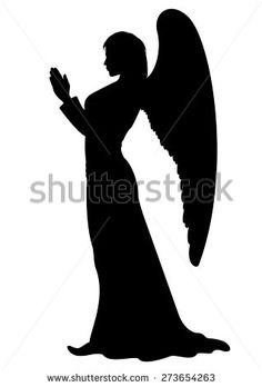 Find Praying Angel Silhouette Figure Female Angel stock images in HD and millions of other royalty-free stock photos, illustrations and vectors in the Shutterstock collection. Christmas Nativity Scene, Christmas Art, Christmas Stencils, Engel Silhouette, Nativity Silhouette, Angel Drawing, Wood Burning Patterns, Christmas Drawing, Scroll Saw Patterns