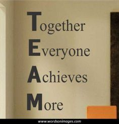 Motivational Quotes About Teamwork. QuotesGram