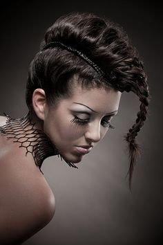 Crazy Hair Style but unfortunately not easy to create..