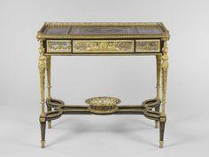 Adam WEISWEILER - Table à écrire à pupitre - 1784 (LOUIS XVI - pour Marie-Antoinette au château de Saint-Cloud)
