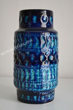 West German Bay Keramik vase