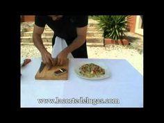 Receta de ensalada de queso de cabra