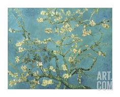 Almond Branches in Bloom, San Remy, c.1890 Giclee Print by Vincent van Gogh at Art.com