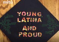 Latina graduation caps