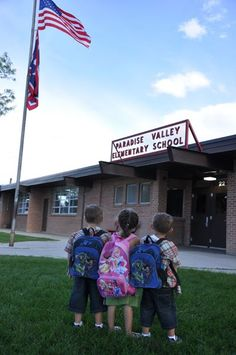 Elementary school my children attended. Paradise Valley (Casper) WY.