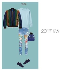 """""""2017 f/w"""" by krisz-kn ❤ liked on Polyvore featuring Palm Angels, Lands' End, 3.1 Phillip Lim, DICK MOBY, Balmain, Fendi, men's fashion and menswear"""