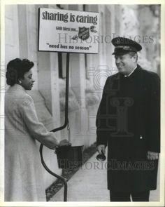 1984 Press Photo Col John Cheyne Salvation Army Centers
