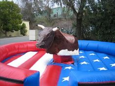 Bull Riding Rentals from Sky High Party Rentals