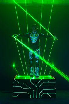 laserman Laser Show using Pangolin laser systems