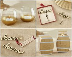 Vineyard Party Favors from HotRef