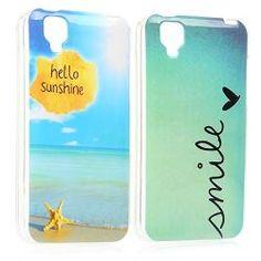 2x Coque Wiko Goa Coque de protection en silicone TPU pour Wiko Goa case  cover housse étui Wiko Goa Design Hello sunshine+Smile b56d9cc0e87f0