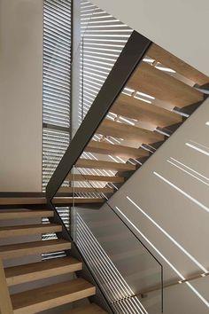 Couloir et hall d'entrée de style par Feldman Architecture