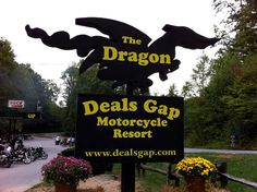 Picture Of The Deals Gap Sign At Tail Dragon On In Nc And Tn Ociate This Highway With More I Guess Because It Is Near A Favorite