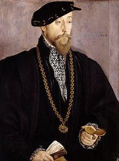 Men's Portraits of the 16th Century Hans Mielich. Portrait of Pankraz von Freyberg zu Hohenaschau (1508-1565)