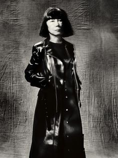 Rei Kawakubo, photo by Paolo Roversi, ©Comme des Garcons, 2016