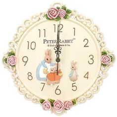 Beatrix Potter Peter Rabbit Wall Clock  $71.95