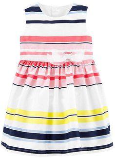 1e92f501 Carter's Short Sleeve Babydoll Dress - Preschool Girls - JCPenney | children  fashion | Girls easter dresses, Dresses kids girl, Babydoll dress