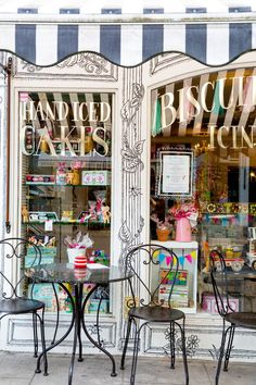 Bakery Storefront in England.