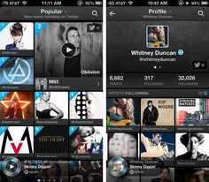Twitters #music app for iOS leverages massive user base to recommend new tunes