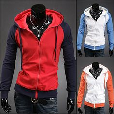 Men Athletic Zip-Up Hoodie . Shop Now At  http://sneakoutfitters.com/collections/new-in/products/men-athletic-zip-up-hoodie-ao-cybc-sw-wy03-so53