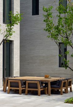 Outdoor Spaces - Oak Valley Asian Residence by Piet Boon Outdoor Rooms, Outdoor Dining, Outdoor Gardens, Outdoor Decor, Outdoor Office, Dining Tables, Dining Set, Dining Rooms, Design Exterior