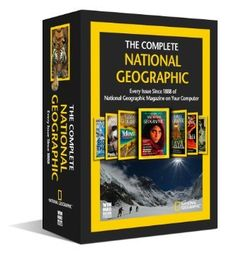 More than 120 Years of Global Exploration on 7 DVD-ROMs Product Information With the Complete National Geographic, rediscover every issue since October 1888 through December 2011 - more than 1,400 issues, 8,000 articles, 200,000 photographs, and hundreds of digitized classic maps exactly as they appeared in print