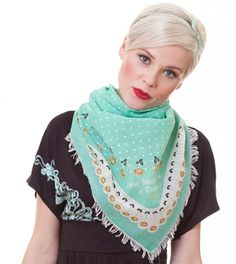 neck kiss scarf elegant roses blutgeschwister..why do you not mail to the US?!