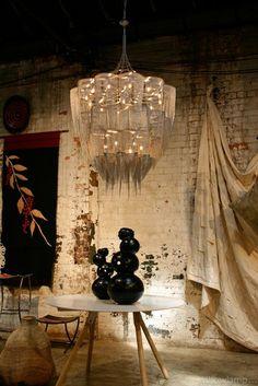 Ceiling Lights & Fans Bright Indoor Chandelier Hotel Light Restaurant Pendant Lamp Living Room Furniture 100% Mouth Blown
