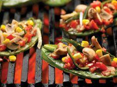Nopales y tinga de vegetales para una comida baja en calorías