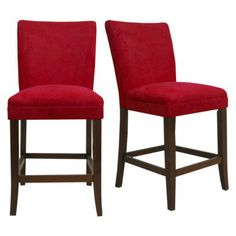 Napa Counterstools - Red   Trying to choose stools...