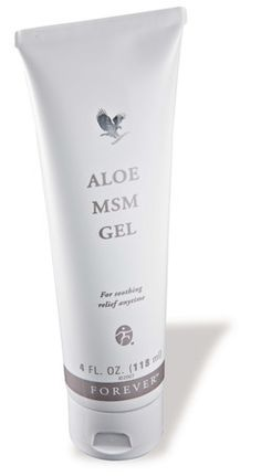 When you're looking for soothing relief, reach for Aloe MSM Gel. MSM stands for Methyl Sulfonyl Methane, an organic sulfur found in almost all living organisms. In fact, sulfur is the third most abundant substance in our body. Gel Aloe, Aloe Vera Gel, Aloe Vera Skin Care, Forever Aloe, Les Rides, Organic Aloe Vera, Herbal Extracts, Forever Living Products, Natural Beauty Tips
