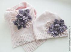 Шапки и шарфы ручной работы. Ярмарка Мастеров - ручная работа. Купить Осенний…