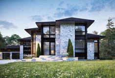 Awesome Plan Maison Contemporaine Quebec that you must know, You?re in good company if you?re looking for Plan Maison Contemporaine Quebec Evolution Architecture, Architecture Design, Dream House Exterior, Modern Exterior, Home Exterior Design, House Goals, Modern House Design, Home Fashion, Future House